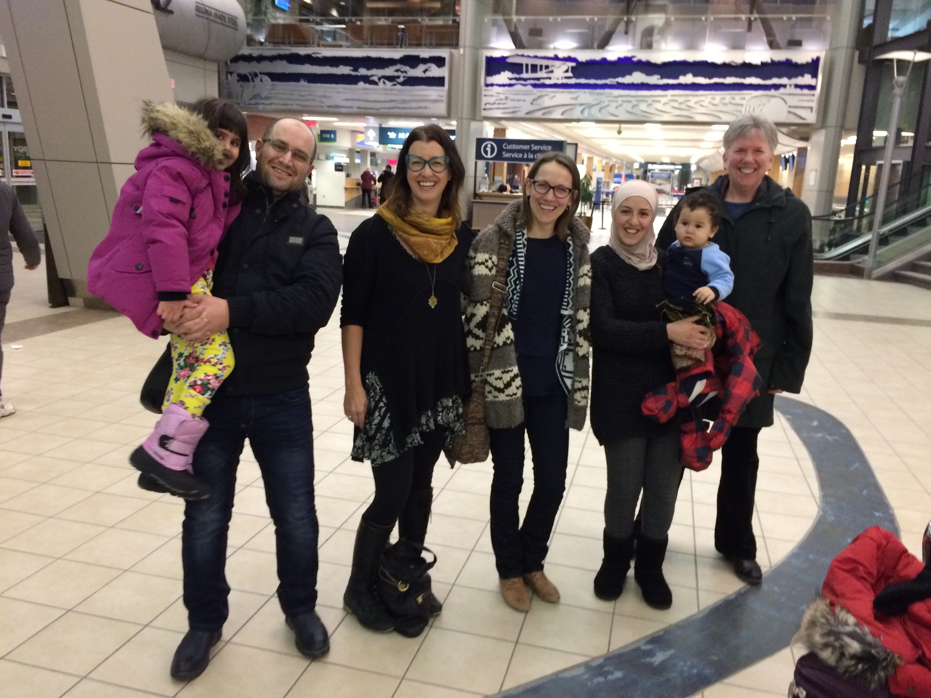 The Etmeh family has arrived!